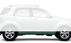 Дорожный просвет Daihatsu Terios