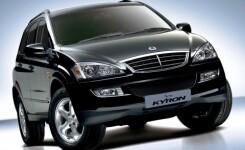 SsangYong Kyron: расход топлива на 100км