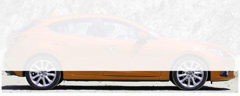 Дорожный просвет (клиренс) Mazda3