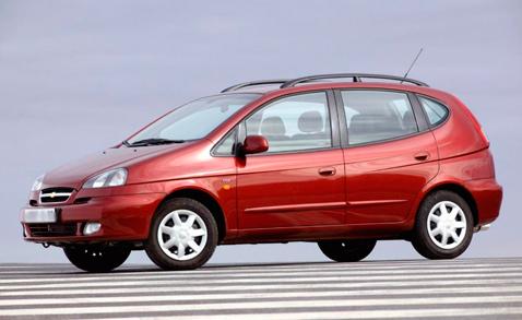 Chevrolet Rezzo (Шевроле Реззо)