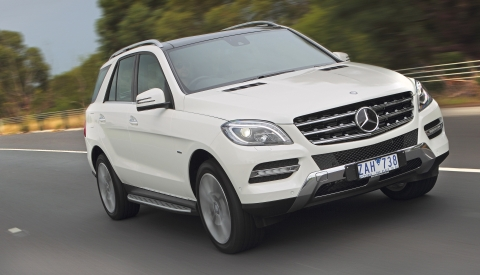 Mercedes benz ml classe m series 100 for Mercedes benz ml series